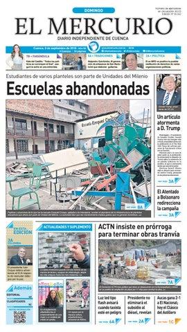 74d6ee5296 hemeroteca-09-09-2018 by Diario El Mercurio Cuenca - issuu