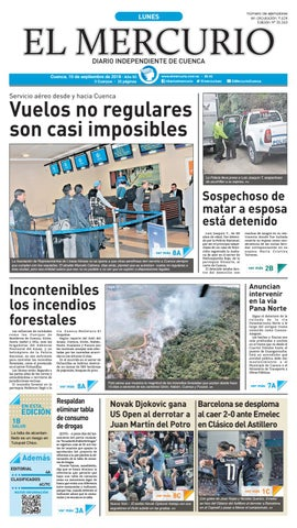 e01bb178b hemeroteca-10-09-2018 by Diario El Mercurio Cuenca - issuu