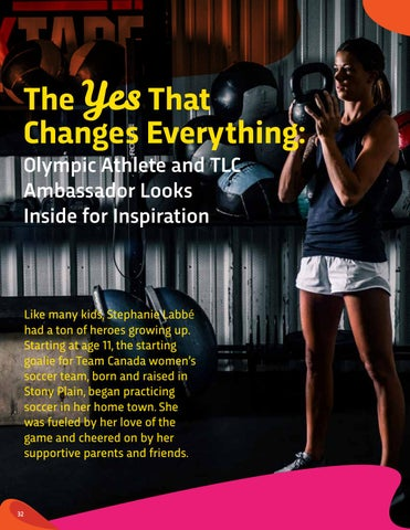Page 32 of Stephanie Labbe: The Yes That Changes Everything