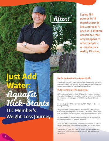 Page 6 of Joe's Story: Just Add Water