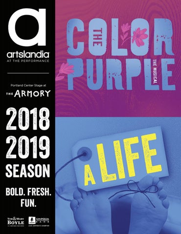 The Color Purple A Life Portland Center Stage At The Armory By