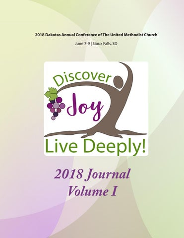 d8bcb7e91 2018 Dakotas Annual Conference of The United Methodist Church June 7-9