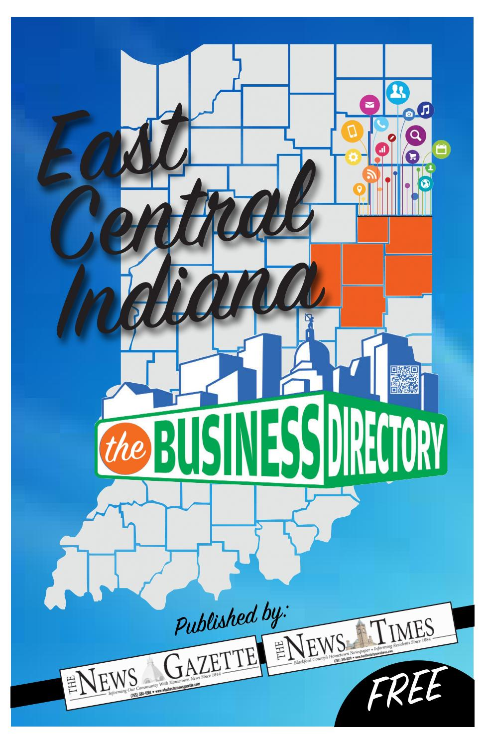 East Central Indiana Business Directory 2018 By