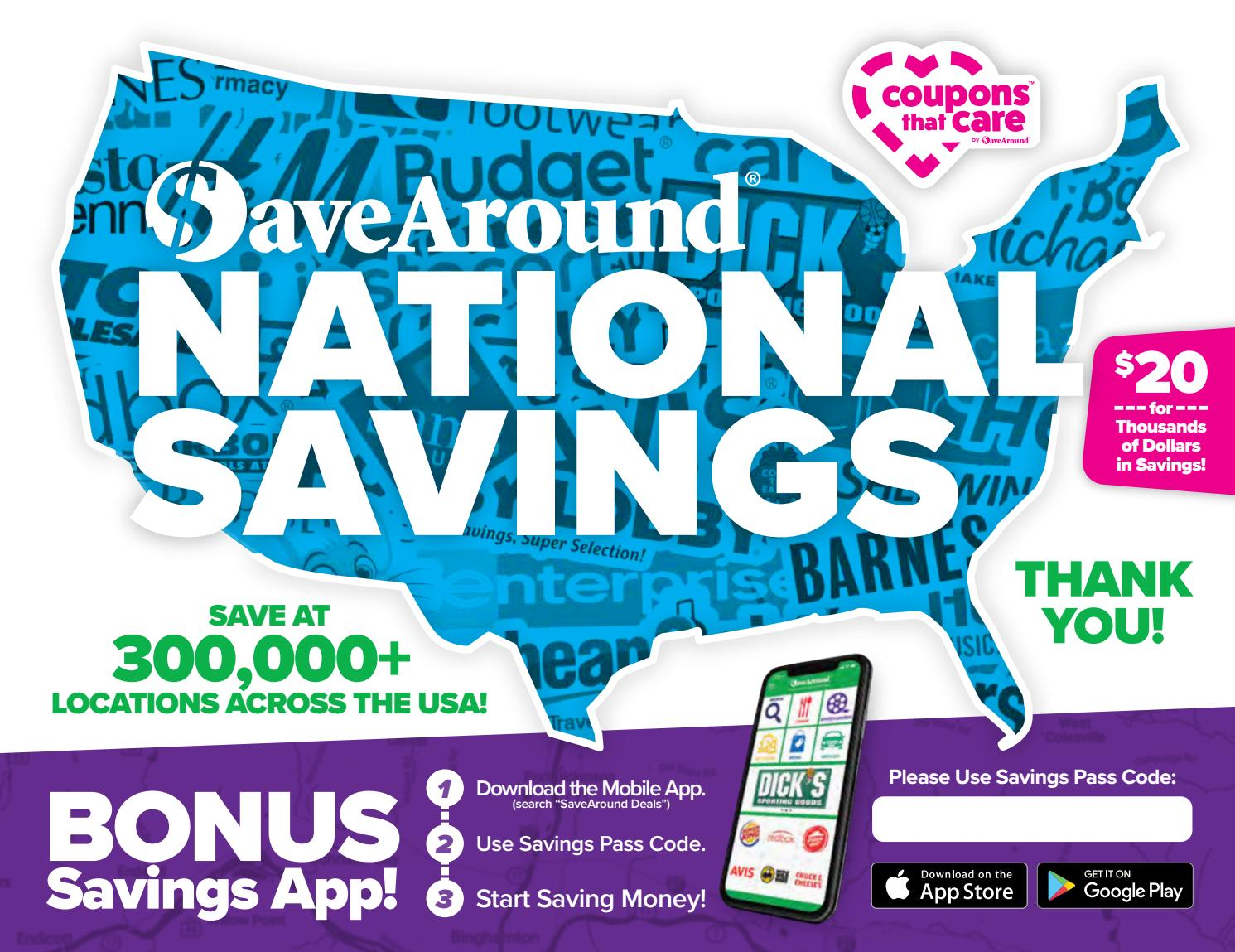 1bb6fcff2fd79 National Savings Book by SaveAround - issuu