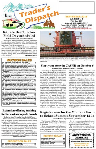 d834ff8582308 Traders Dispatch September 2018 by The Trader s Dispatch - issuu