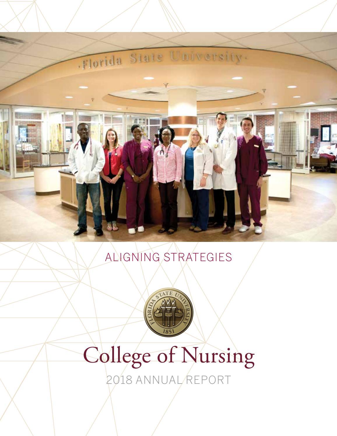 Florida State University College of Nursing 2018 Annual