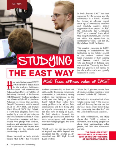 Page 6 of Studying the EAST Way