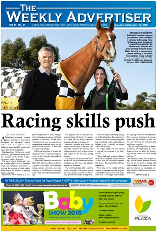 The Weekly Advertiser Wednesday September 12 2018 By The Weekly