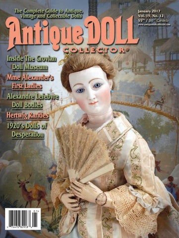 a77c89c5e890 2017 ANNUAL by Antique Doll Collector Magazine - issuu
