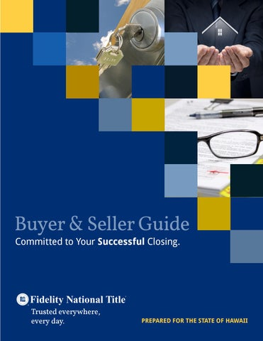 Hawaii Buyer Seller Guide By Fidelity National Title Issuu