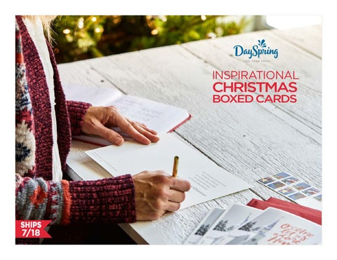 Dayspring Christmas Cards.Dayspring Boxed Christmas Cards By Scott Edwards Issuu