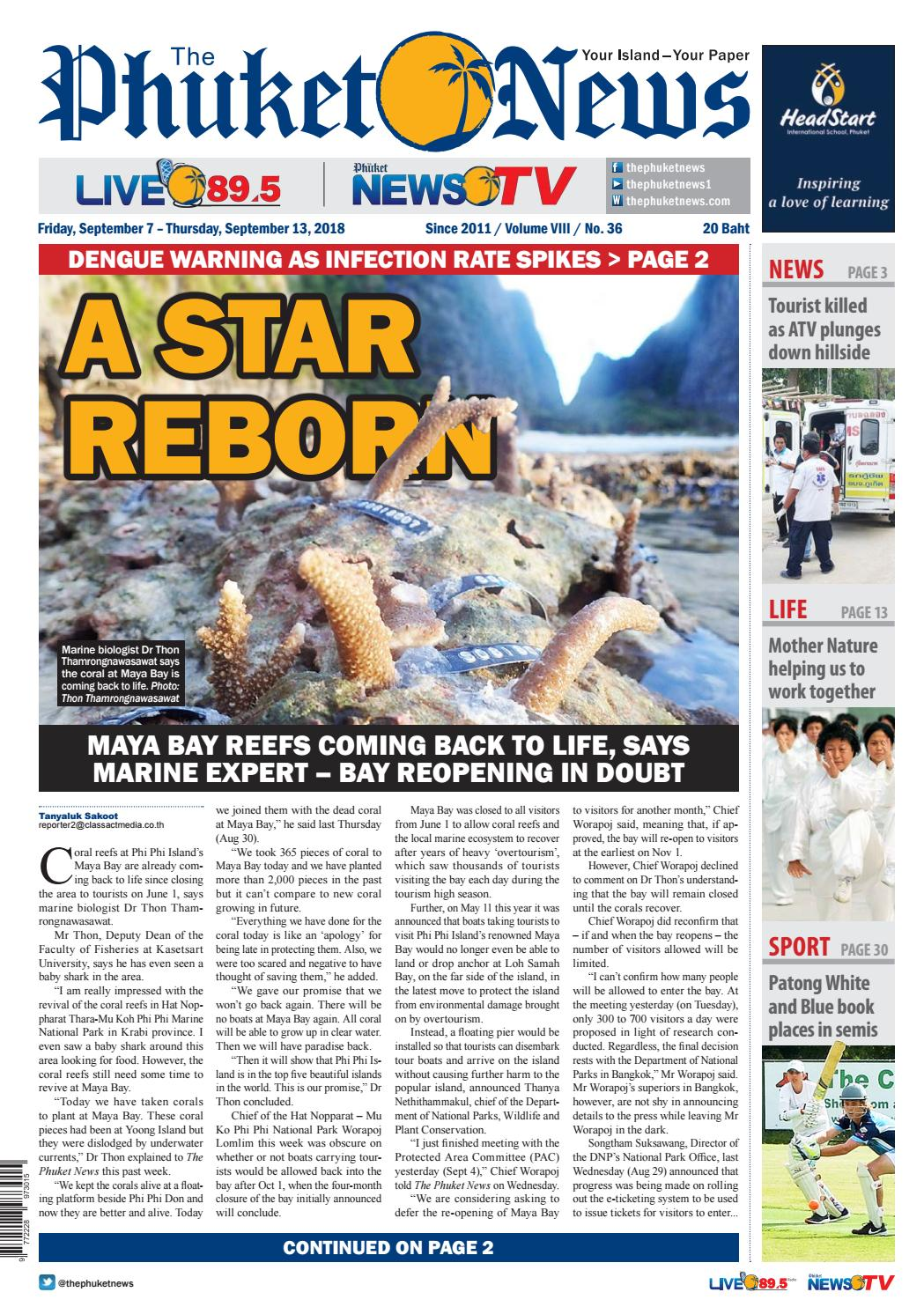 The Phuket News 07 September 2018 by The Phuket News - issuu