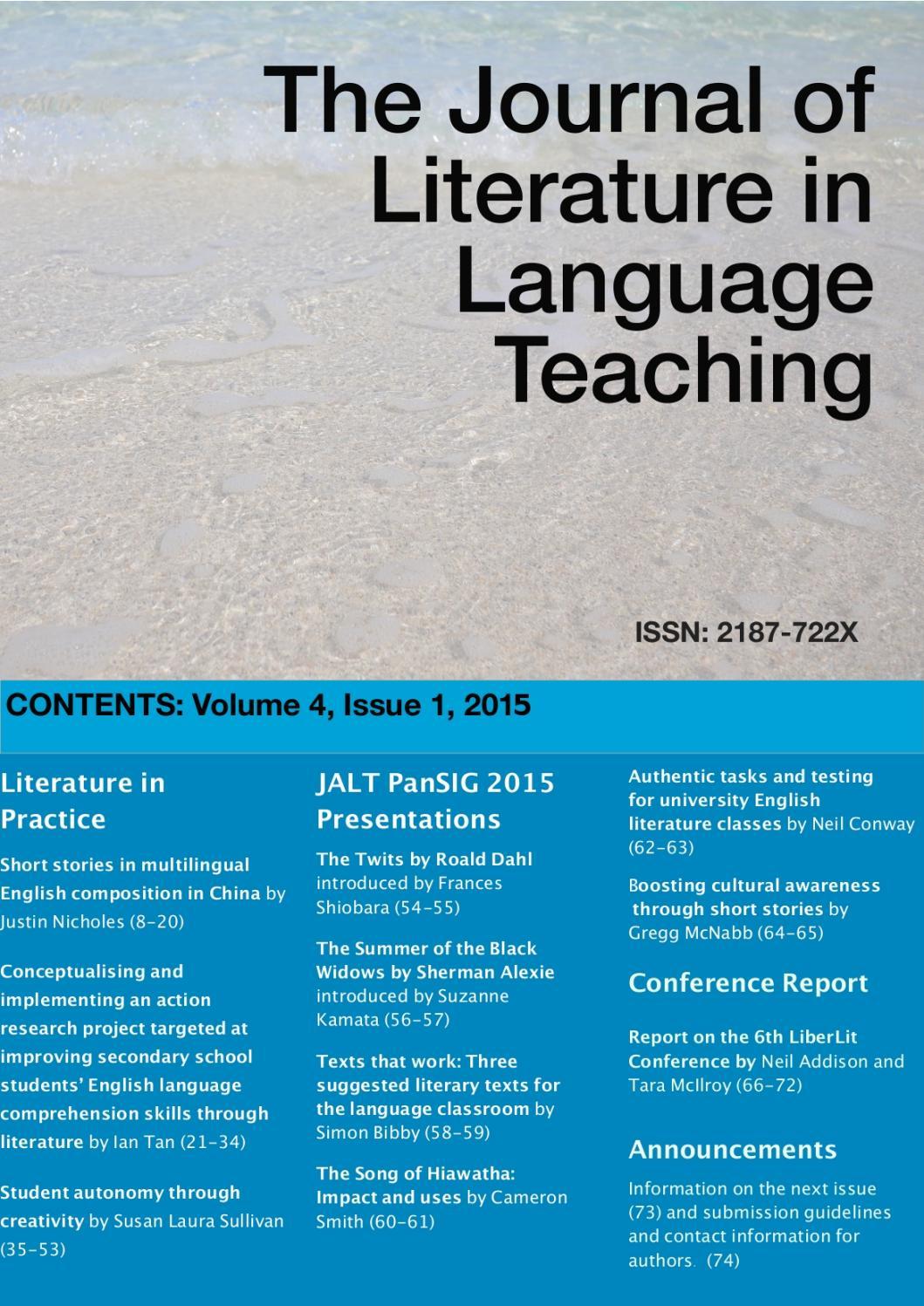 Literature in Language Teaching ...
