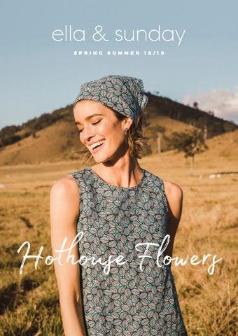 a090ebd9ad9 Ella   Sunday Lookbook - Hothouse Flowers Spring Summer 18-19 by ...