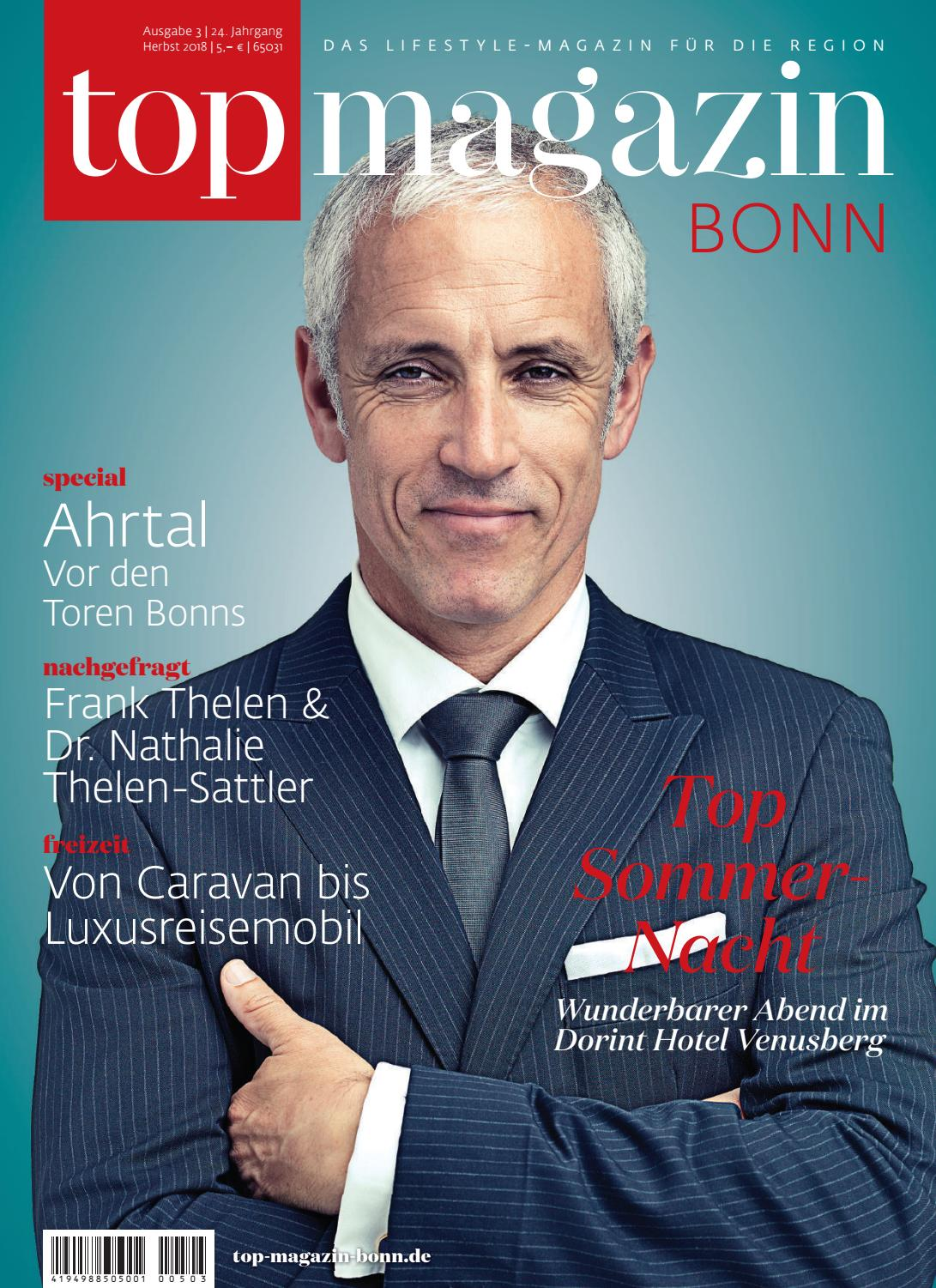 2018 Top 10 It Issues: Top Magazin Bonn Herbst 2018 By Top Magazin