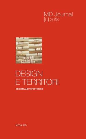 MD Journal  5  2018 DESIGN E TERRITORI by md material design - issuu 4ee3f57e9ea