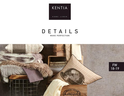 85f5645845 KENTIA FW 18 19 CATALOGUE by KENTIA - issuu
