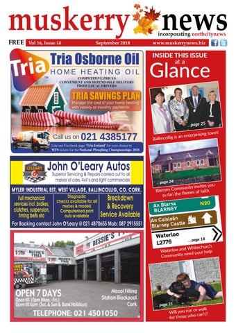 The Muskerry News by Muskerry News - issuu