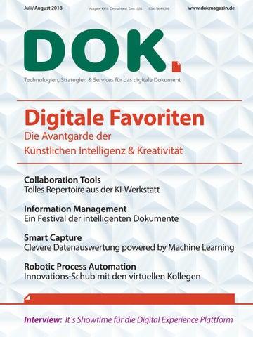 Dok Magazin Ausgabe 3 2018 By Digitusmagazin Issuu