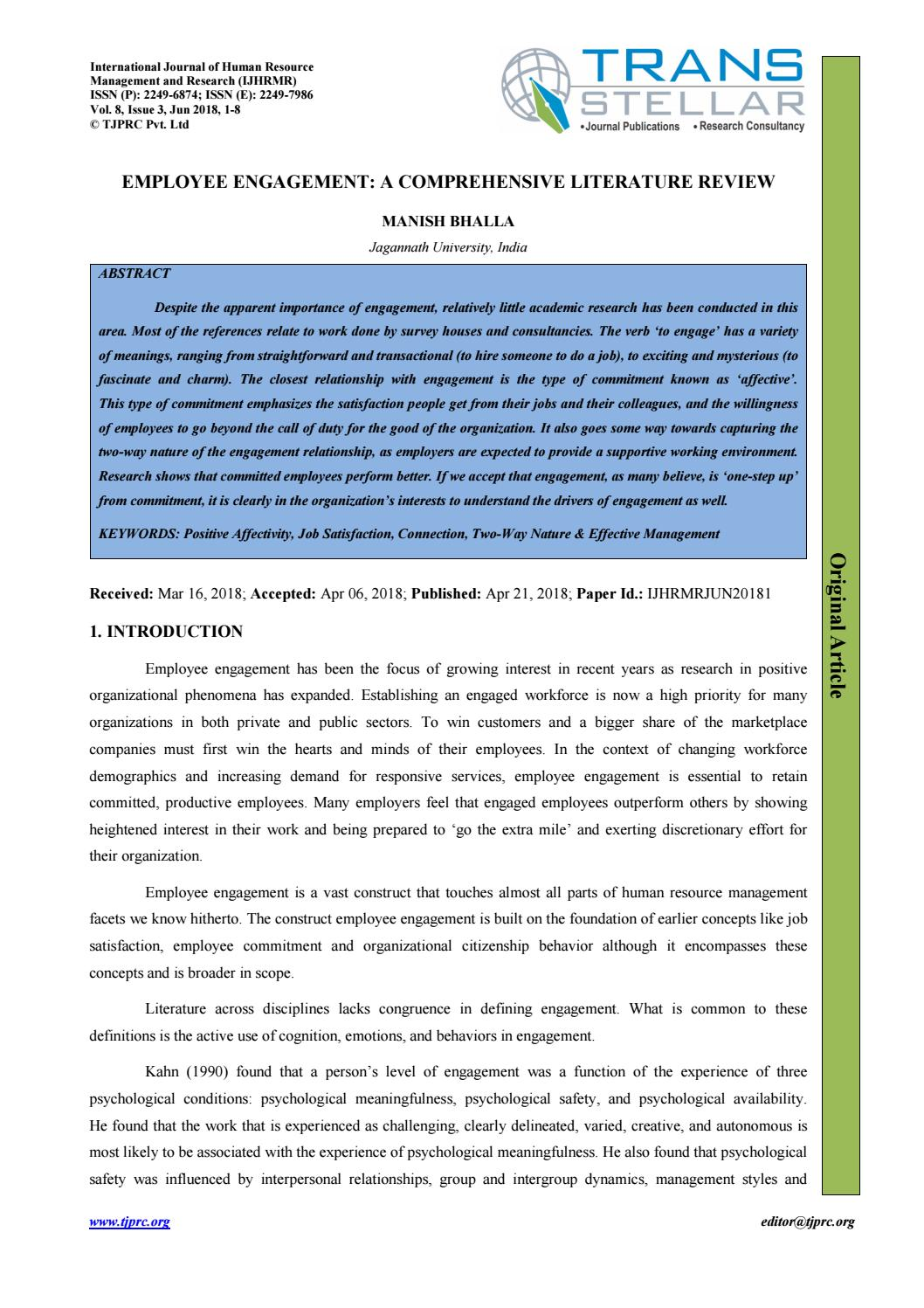 Literature review employee communication resume button on hp printer