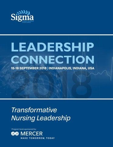 2018 Leadership Connection by Sigma Theta Tau International Honor