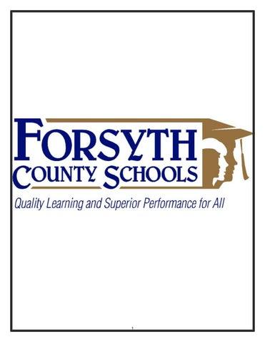 Forsyth County Schools Staff Handbook by Forsyth County