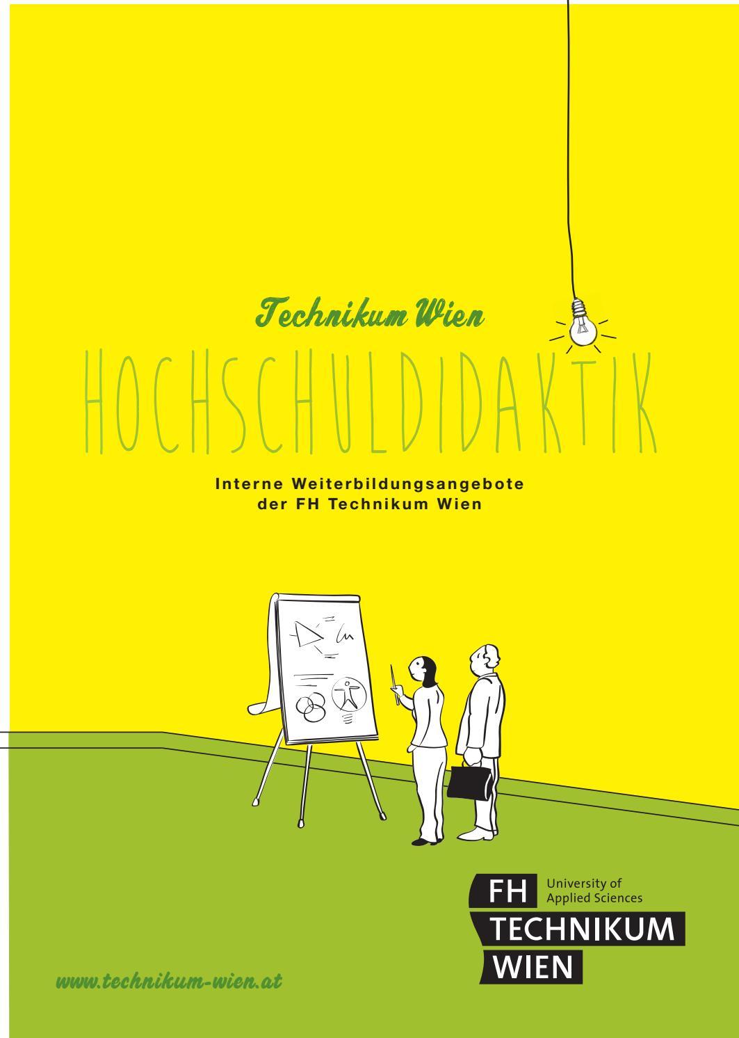 Weiterbildungsprogramm der FH Technikum Wien / Interne Weiterbildung ...