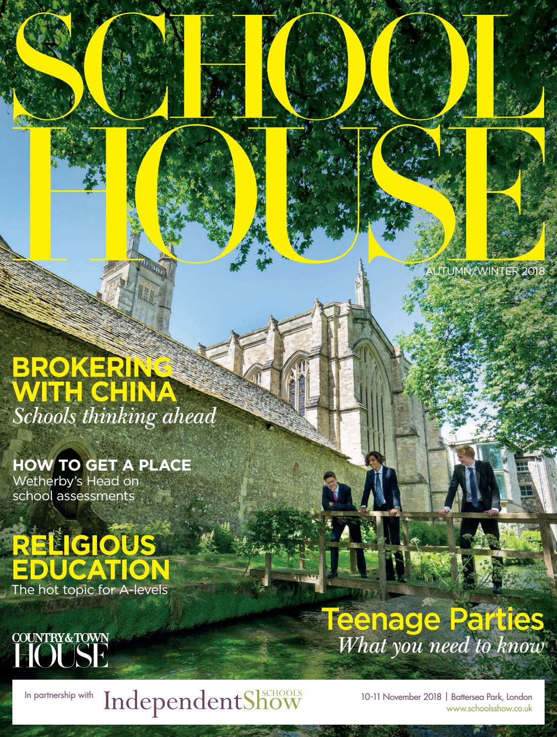 ff35973d4b School House - Autumn Winter 2018 by Country   Town House Magazine - issuu