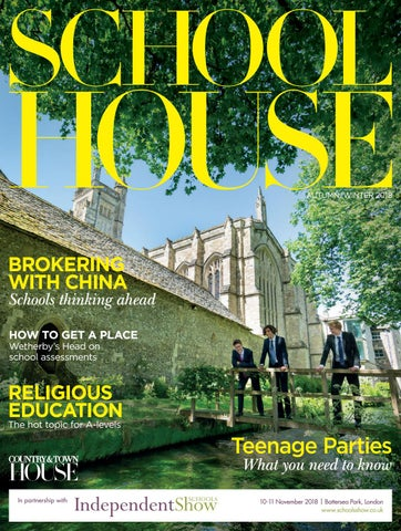 0278f8250a0 School House - Autumn Winter 2018 by Country   Town House Magazine ...