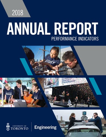 Annual Report 2018: Performance Indicators by University of Toronto
