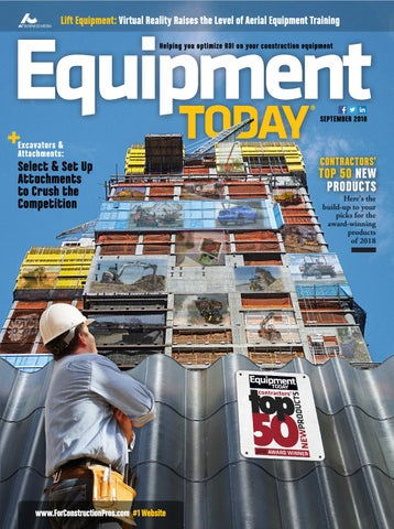 Equipment Today September 2018 by ForConstructionPros com