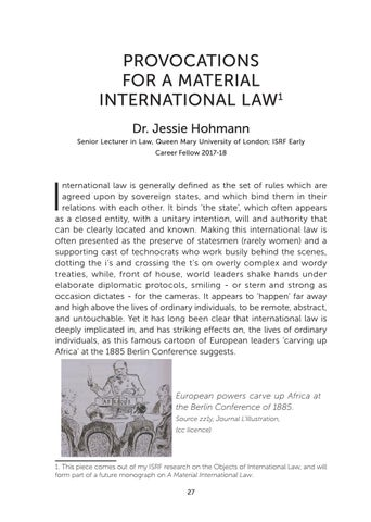 Page 29 of Provocations for a Material International Law