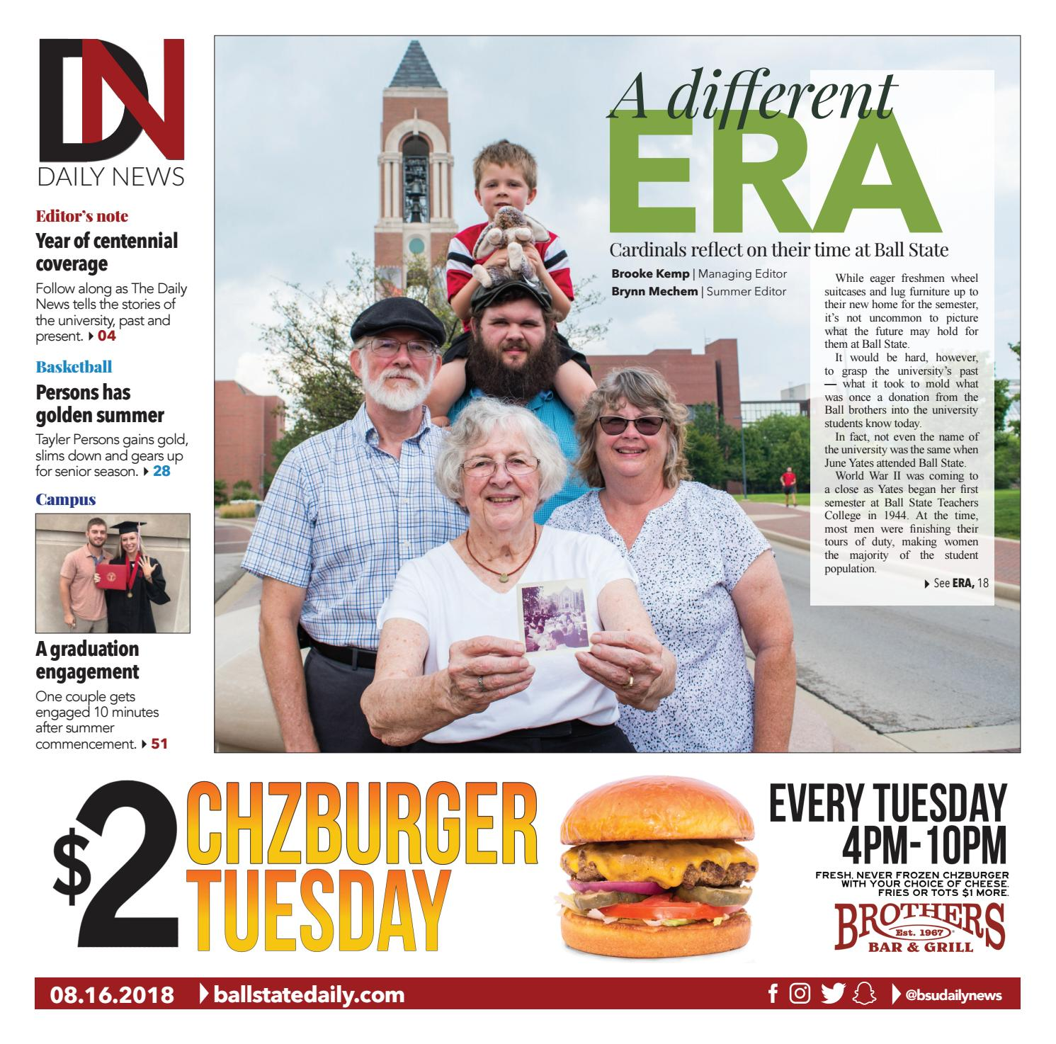 Roll Call 2018 by The Ball State Daily News - issuu de3e06fdfccc