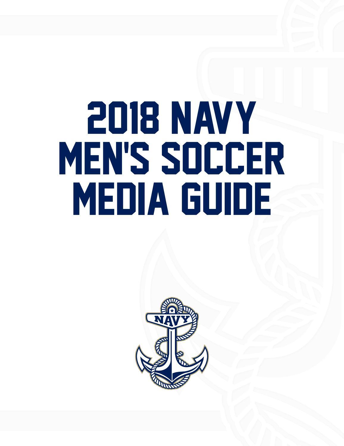 2018 Mens Soccer Guide By Naval Academy Athletic Association Issuu Bernardi Burger Polos 6 Bj