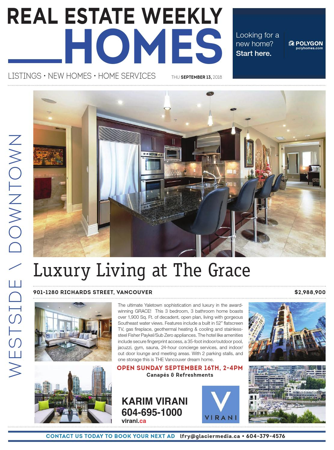WESTSIDE / DOWNTOWN Sep 13, 2018 Real Estate Weekly by Real Estate on