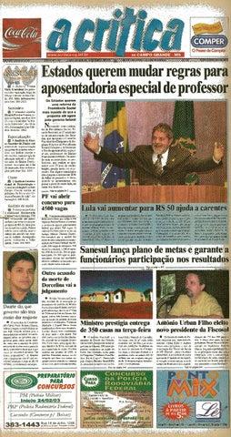 f090587b0f7 Jornal A Critica - Edição 1120- 16 03 2003 by JORNAL A CRITICA - issuu