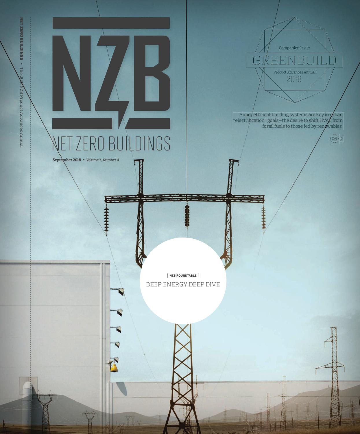 Net Zero Buildings - September 2018 by Construction Business Media ...