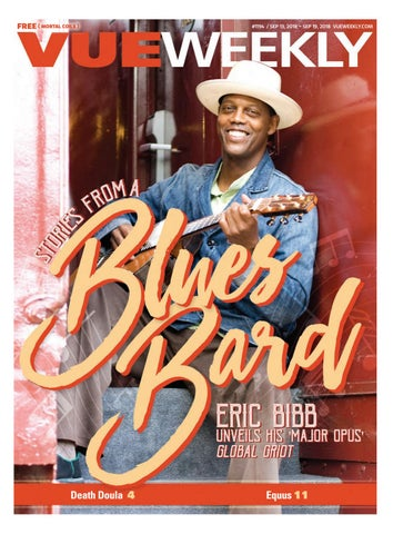 reputable site 02642 93fd0 1194  Eric Bibb by Vue Weekly - issuu