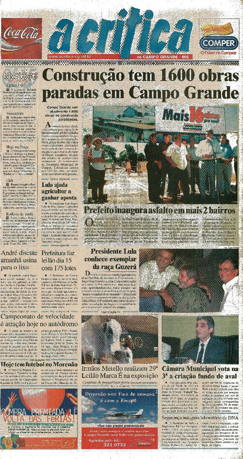 743fb235ec72c Jornal A Critica - Edição 1122- 30 03 2003 by JORNAL A CRITICA - issuu