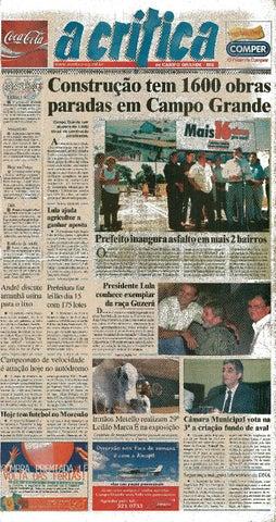 6f1219c8777b3 Jornal A Critica - Edição 1122- 30 03 2003 by JORNAL A CRITICA - issuu
