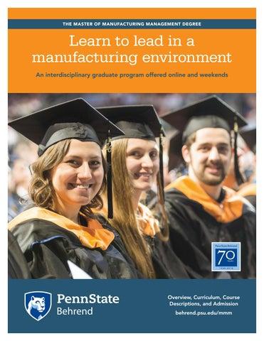 Penn state graduate school