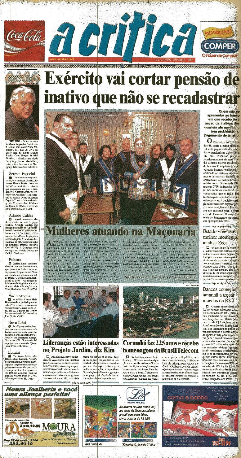 c09a47ffb28 Jornal A Critica - Edição 1147- 21 09 2003 by JORNAL A CRITICA - issuu