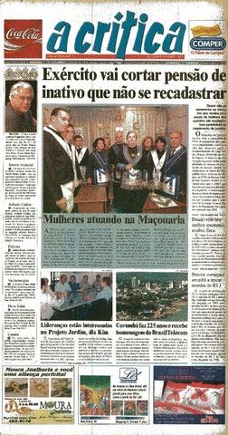 b733db54d5 Jornal A Critica - Edição 1147- 21 09 2003 by JORNAL A CRITICA - issuu