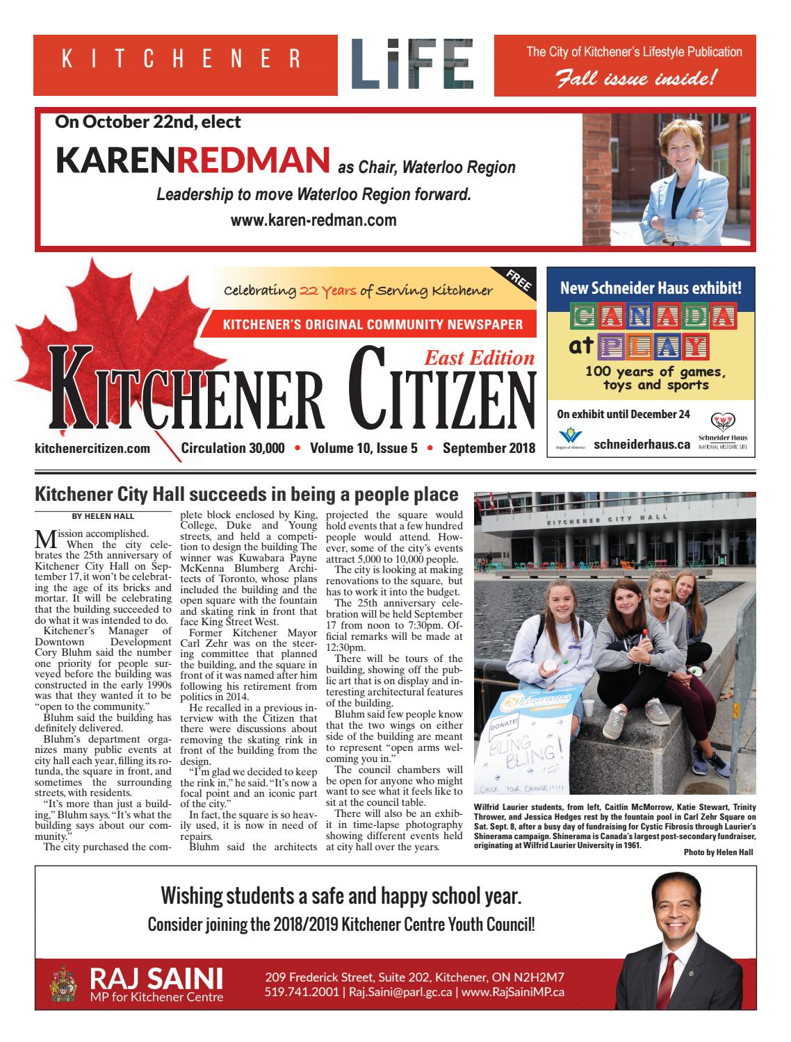 Kitchener Citizen - East Edition - September 2018 by