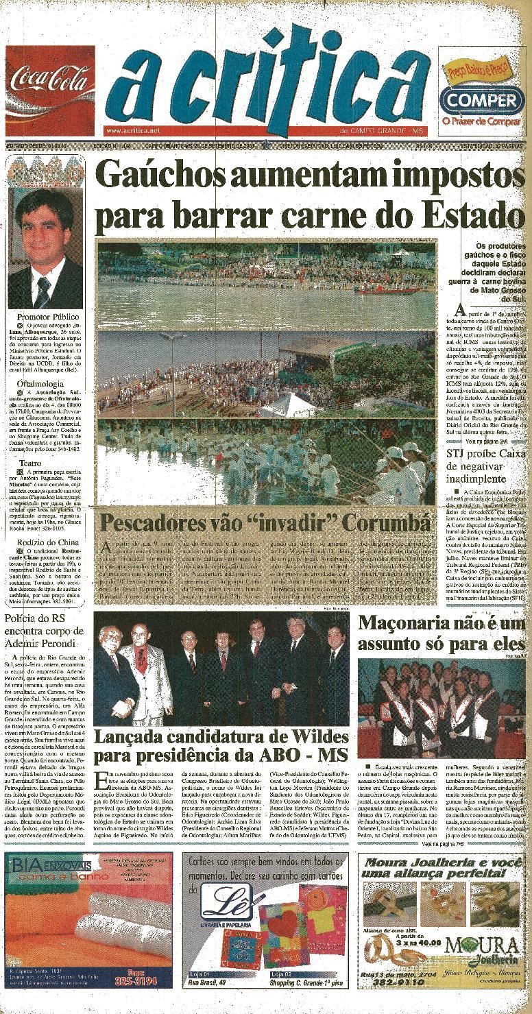 da2944aab Jornal A Critica - Edição 1148- 28 09 2003 by JORNAL A CRITICA - issuu