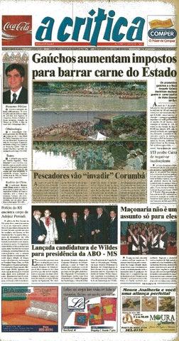 a7ab161ddf Jornal A Critica - Edição 1148- 28 09 2003 by JORNAL A CRITICA - issuu
