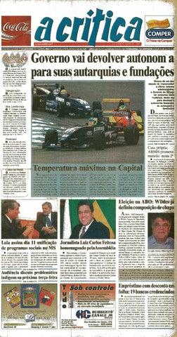 5bca5e9d14582 Jornal A Critica - Edição 1149- 05 10 2003 by JORNAL A CRITICA - issuu