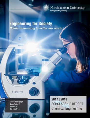 Chemical Engineering Scholarship Report 2017-2018 by College