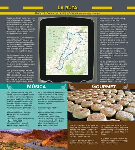 Page 18 of La Ruta, música y gourmet