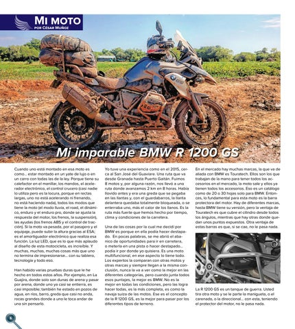 Page 6 of Mi imparable BMW R 1200 GS